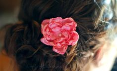 Accesorio floral a mano - Las Manualidades