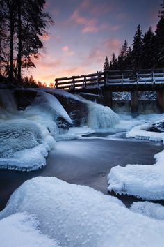 A cold afternoon near Oslo, Norway