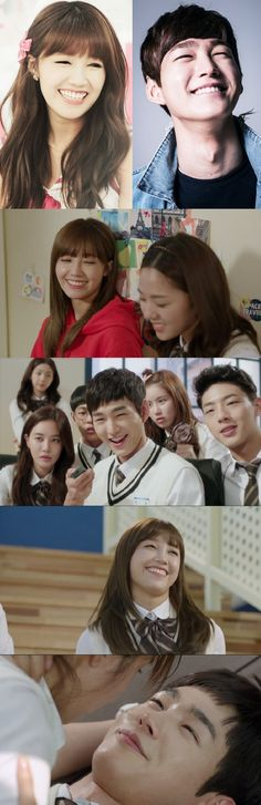 Jung Eun Ji and Lee Won Geun are an eye smile match made in heaven! Watch them together in Cheer Up!