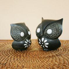Owls by ggmossgirl, via Flickr