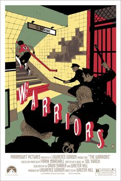 The Warriors- Rad poster