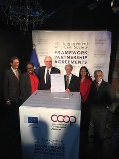 Кооперативы Европа ведет МКА в сотрудничестве с ЕС по международному развитию | Кооперативы Европы
