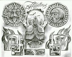 Arte Cholo, Cholo Art, Chicano Art Tattoos, Chicano Drawings, Clock Tattoo Design, Sketch Tattoo Design, Tatuagem Azteca, Chicanas Tattoo, Money Tattoo