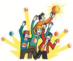 Jugar, ganar, perder, aprender, mejorar, volver a intentarlo. Esto es parte de lo que sucede en el mundo de la gamificación y es también parte de lo que proponemos en Luxor Call Games. #LCG  #CXO  #custexp #Customer Experience #Consumer #cliente Experiencia del Cliente. Ilustración registrada por Luxortec.com