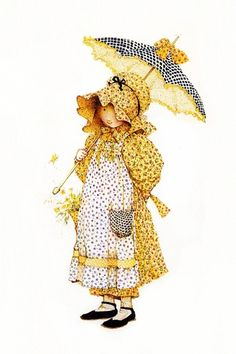 The Holly Hobbie lovely illustrator