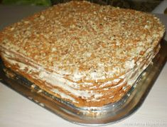 Vanilla Cake, Pudding, Ethnic Recipes, Wafer Cookies, Cakes, Puddings