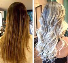 Ombré Hair, Blonde Hair, Make Beauty, Long Bob, Balayage Hair, Hair Trends, Hair Color, Long Hair Styles, Makeup