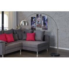 Lampadaire extensible 170-210cm coloris argent