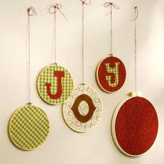 Get Wacky and Crafty with Pattiewack!: Embroidery Hoop Christmas Craft