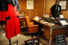 Elvis' office at Graceland by AleksandraR, via Flickr #Elvis #Graceland