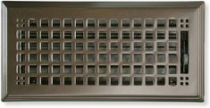 craftsman style heat register in oil rubbed bronze Cold Air Return, Vent Covers, Home Hardware, Craftsman Style, Oil Rubbed Bronze, Interior And Exterior, New Homes, Home And Garden, Steel