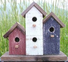 Decorative Americana Birdhouse
