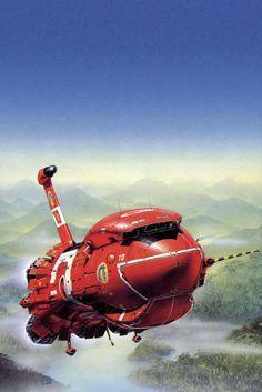 70s Sci-Fi Art: Peter Elson