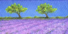 """Lavender At Twin Oaks"" would fit many home decors and make a great gift!"