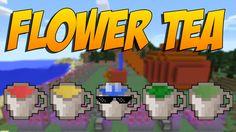 FLOWER TEA: Tés Que Nos Darán Buffs Y Nos Quitaran Hambre - Minecraft Mod 1.10.2/1.7.10
