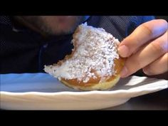ASMR: Eating Dessert Coconut Donut No Talking
