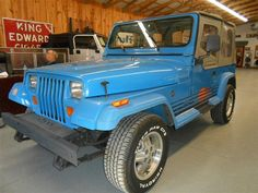 This was the first brand new vehicle l ever owned. 1989 Jeep Wrangler Islander. I loved it. It was a lot of fun!