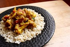 African vegetarian curry recipe
