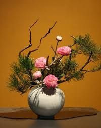 Image result for ikebana rose and lily