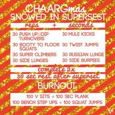 SNOWED IN SUPERSET - CHAARG