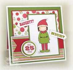Naughty or Nice? by mom2n2 - Cards and Paper Crafts at Splitcoaststampers