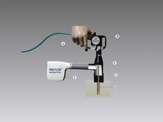 Nex Flow™ Blind Hole Cleaning System uses the venturi effect to draw out dust and debris from deep holes in drilled parts. It cleans out blind holes without any mess because the unit covers the hole entirely while operating. Hole In One, Blinds, Flow, Guns, The Unit, Cleaning, Deep, Create, Bag