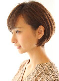 丸みが可愛いニュアンスショートボブ 髪型・ヘアスタイル・ヘアカタログ ビューティーナビ