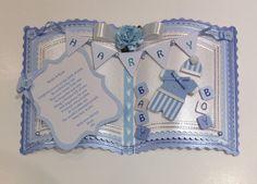 Luxury Handmade Personalised Baby Boy/1st Birthday Bookatrix Card in Crafts, Cardmaking & Scrapbooking, Hand-Made Cards | eBay