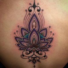 Lotus Psique Delein ... #tattoo #tattooyoubrasil #lotus #fun  #world #love my work ...