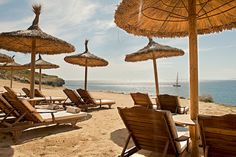 Private beach in #caprocat #mallorca #luxury