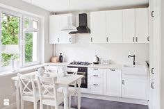 Kuchnia styl Prowansalski Kuchnia - zdjęcie od Qbik Design