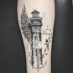 Resultado de imagen para simple lighthouse tattoo