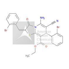 ETHYL (2E)-5-AMINO-7-(2-BROMOPHENYL)-2-[(2-BROMOPHENYL)METHYLIDENE]-6-CYANO-3-OXO-7H-[1,3]THIAZOLO[3,2-A]PYRIDINE-8-CARBOXYLATE is now  available at ACC Corporation