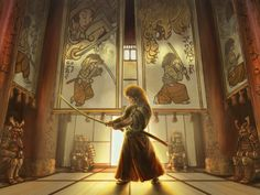 ArtStation - Legend of the Five Rings, Michael Phillippi