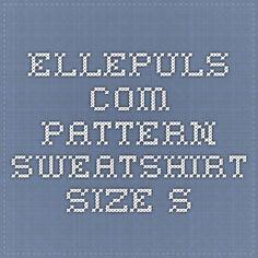 ellepuls.com pattern_sweatshirt-size S