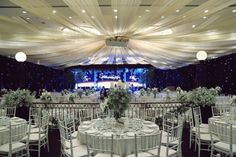 Elegant Wedding Decorations For Reception Blue Luxurious | visit www.lovelyweddingideas.com