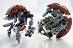 Droideka par madLEGOman - Come visit us at www.hothbricks.com, www.lordofthebric... & www.brickheroes.com for up to date news about LEGO stuff