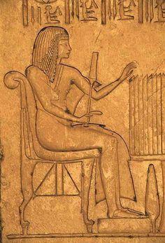 Horemheb relief inside the Tomb of Horemheb Necropolis of Saqqara Memphis Egypt.