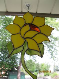 Sunflower+Suncatcher