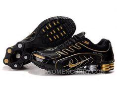 dc9a1ed5470 Men s Nike Shox R5 Shoes Black Gold Super Deals