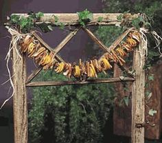 How to make a Christmas Wreath! I'm definitely going to do this!