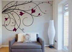 Resultado de imagen de como pintar una habitacion de dos colores con dibujos