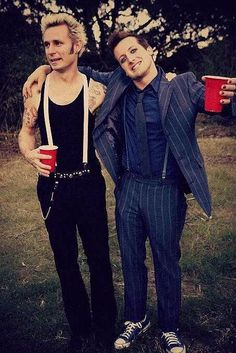 #GreenDay - Mike Dirnt & Tre Cool