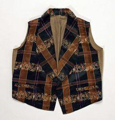 Waistcoat ca. 1842-1854 via The Costume Institute of the Metropolitan Museum of Art