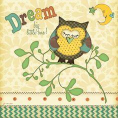 Träume, Englisch Poster von Jo Moulton bei AllPosters.de