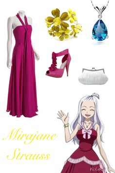 Fairy Tail Inspired Outfits ♡ Mirajane Strauss