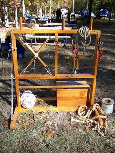 Knot Tying Station for Cub Scouts and Boy Scouts