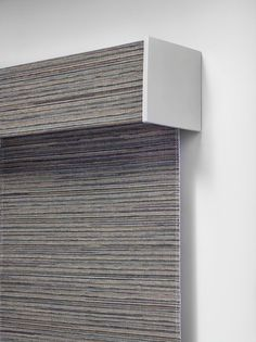 Take a look at this Alustra® Woven Texture Roller Shade. Look how clean and neat the square cassette looks!