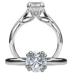 Ritani Modern Engagement Ring