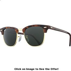 Ray Bans- Clubmaster tortoise